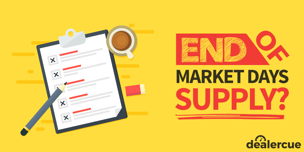 The End of Market Days Supply: Why MDS is Outdated and What You Should Use Instead